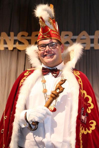 Prins Roy d'n Urste - Roy de Haan