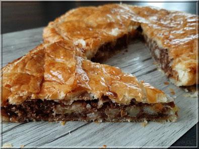 recette galette des rois pralinoise