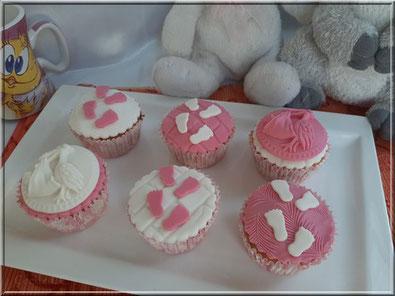 tuto cake design cupcake naissance
