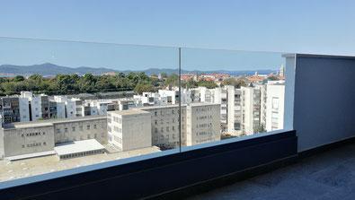 Ausblick Apartment Zadar