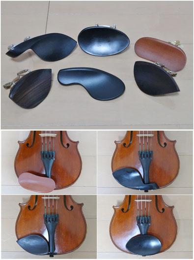 フィドル バイオリン 顎当て