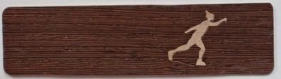 MQSF15_1504 - Marque-page Ski de fond - 15 x 4 - Atelier Eclats de bois - Isère