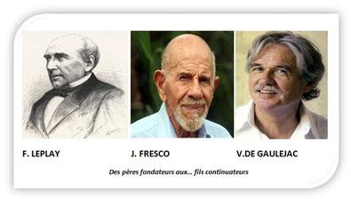 Des pères fondateurs aux ... fils continuateurs
