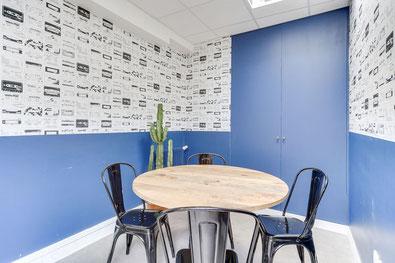 L'aménagement d'une salle de réunion