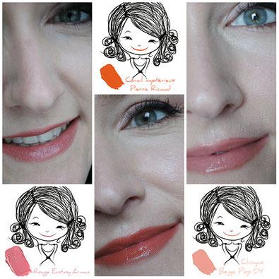 rouges à lèvres pulpeuses