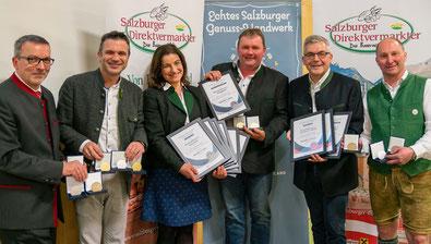 Salzburger Milchprodukte Prämierung 2019