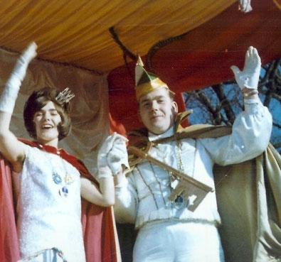 1968 Prinz Ulrich Ohrmann I. Prinzessin Marlies Dreikauß I.