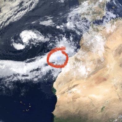 Hurrikan Theta auf den Kanarischen Inseln