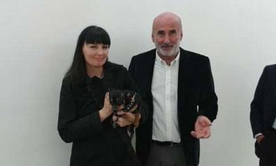 con Eduardo Cicelyn