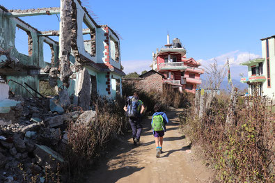 Ridge Trail Katmandu, Nepal