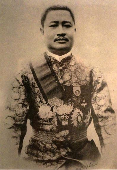 SA MAJESTE LE JEUNE ROI SISAVANG VONG (1885 + 1959)