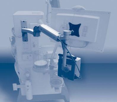 モニターアーム, 医療機器, 日本光電, ケーブル処理, ケーブル配線, UL180シリーズ