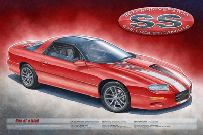 2002 CAMARO SS 35TH ANNIVERSARY EDITION