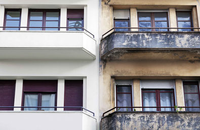 Fassadenarbeiten in Dorfen