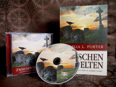 Soundtrack Score CD Roman Book Zwischen den Welten Nicolae Saga Aurelia L. Porter Maximilian J. Zemke