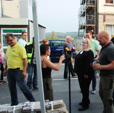 Unternehmernetzwerk fair-dienen das Unternehmernetzwerk aus dem bergischen Land, bei einer Veranstaltung in Sprockhövel