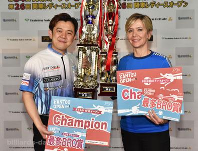 Lo Li wen & Allison Fisher won 2018 Kanto Open, Tokyo