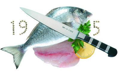 flexibles Filetiermesser, hochwertiges Fischmesser, Messer für Fisch