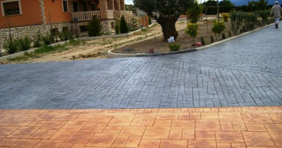 pavaj curte beton