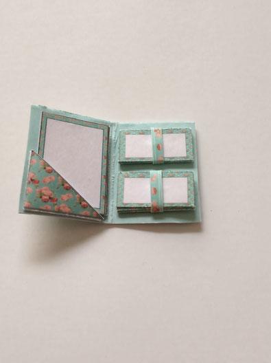 Miniatur Schreibmappe