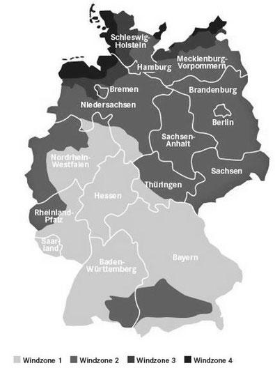Windlast in Deutschland