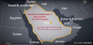 "Pressespiegel - Grenzzaun a la ""Berliner Mauer"" um Saudi Arabien"