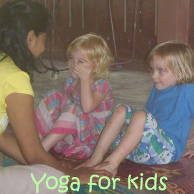 Yoga for kids @ Eco-Logic Yoga Retreat. For children from 3 years and up.