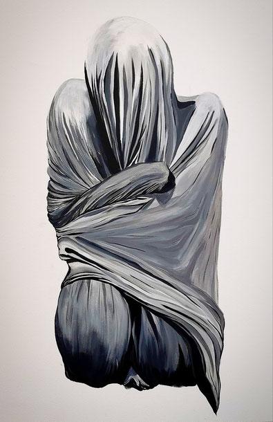 alon, 2020, Acryl auf Leinwand, 100x 70 cm