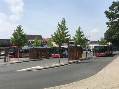 Busbahnhof in Bremen-Huckelriede