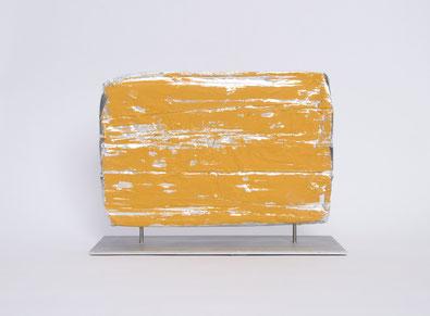 o.T. 2013 Temperafarbe, Aluminium 20,5 x 27,7 x 12 cm