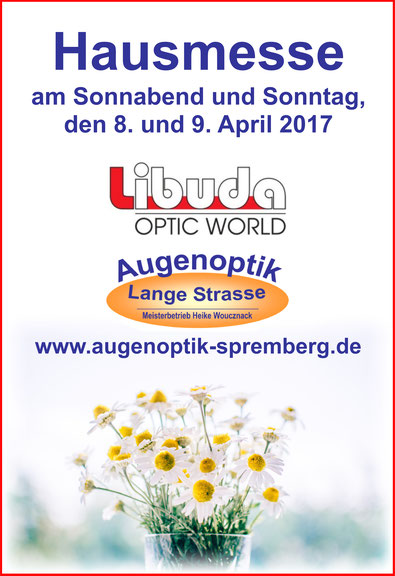 Libuda Optic World exklusiv in Spremberg bei Ihrem Optiker