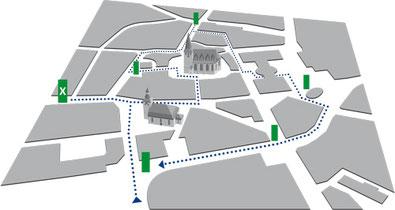 Standort Laubacher Tor / Neanderstraße