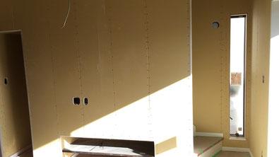 さいたま市の戸建住宅、室内塗装工事前の写真