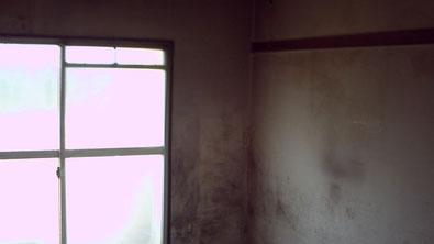 さいたま市の集合住宅、室内壁面塗装前の写真