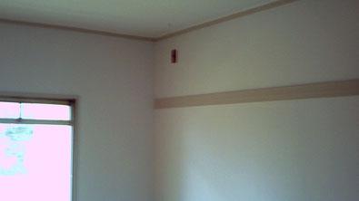 さいたま市の集合住宅、室内壁面塗り替え工事完了の写真