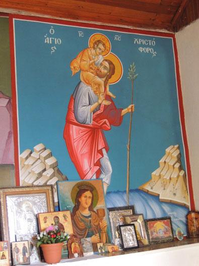 Der Heilige Christopherus - Schutzpatron der Reisenden