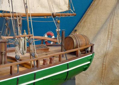 Bild: Ausschnitt von Helga (Modellbauschiff)