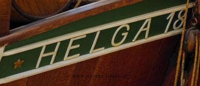 """Schriftzug """"Helga"""""""
