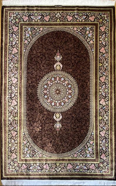 QUMsilk MERSAD YARI工房 ドザールサイズ 約200x130