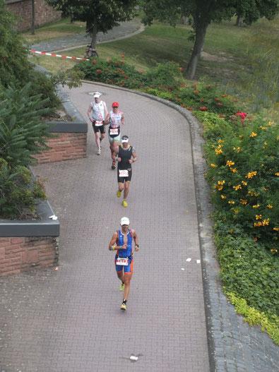 Iron-Man 2014 in Frankfurt am Main: Kraft durch Training und Ausdauer