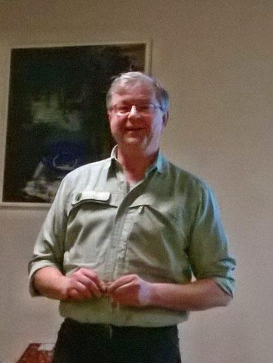 Förster Gunnar Wolf vom Forstamt Alzey