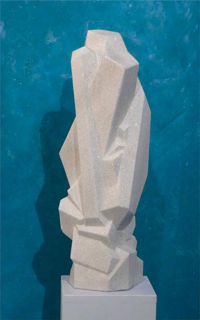 Kristallskulptur aus Marmor