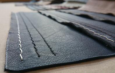 Dickleder, Vintageleder, grobes Leder