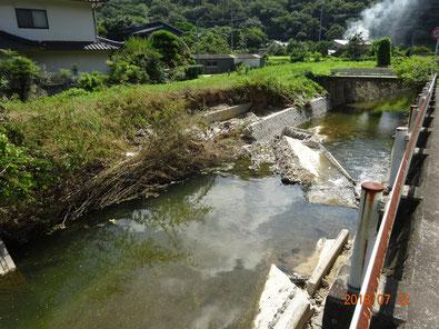 2週間後、水は減ったが復旧作業進展なし