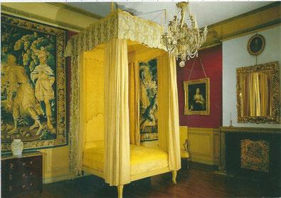 chambre de madame de Sévigné