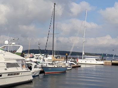 Laboe, Werft