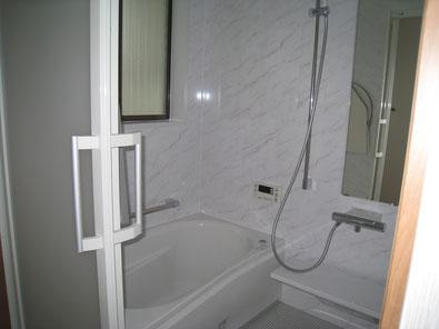 改装後の浴室