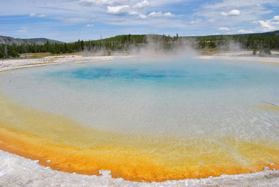 Mietwagenreise Yellowstone Nationalpark