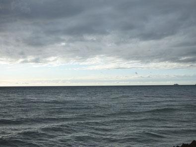 夕方低気圧が通過したのか、豪雨の後少し明るくなって風北寄りに変わりました!