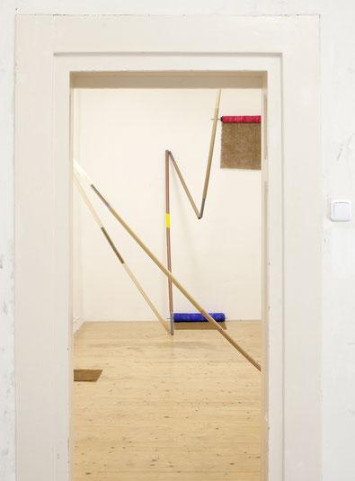 Einzelausstellung in LUIS LEU, Karlsruhe, Jan. 2019